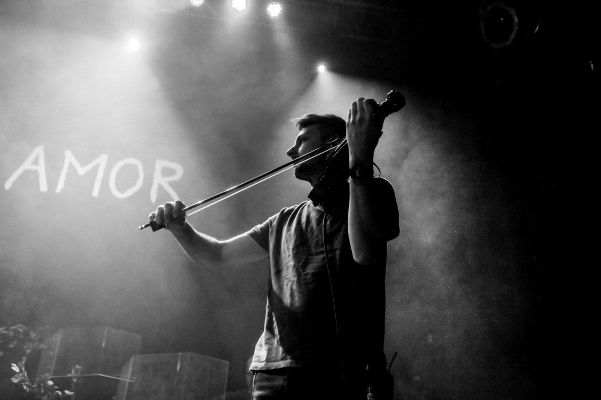 Violin Player for Novo Amor