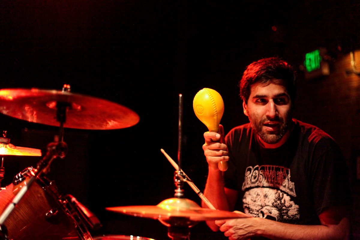 Paul Banwatt Shaking A Maraca
