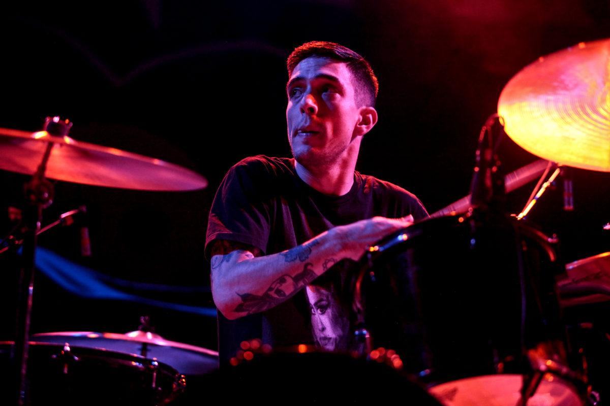 Sharp Shock Drummer Korey Kingston
