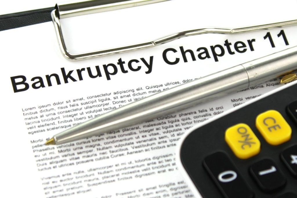 Get paid company files bankruptcy