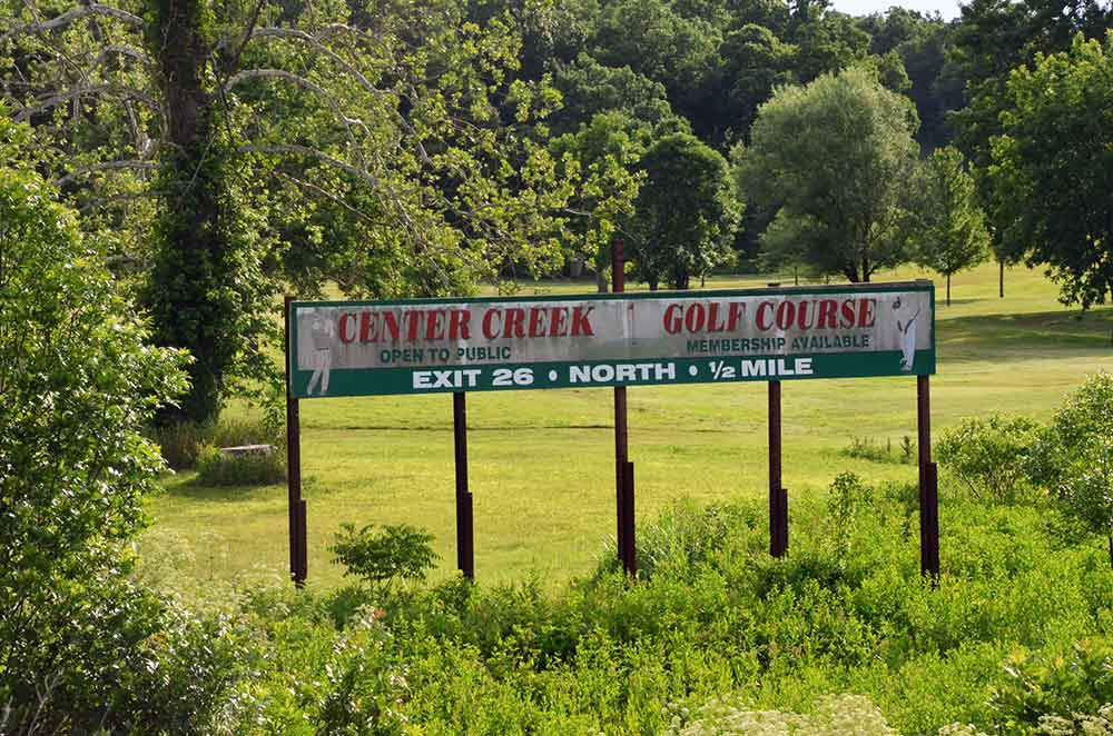 Center-Creek-Golf-Course,-Sarcoxie,-MO-Sign