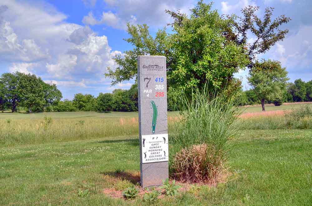 Greene-Hills-Country-Club,-Willard,-MO-Tee-Marker