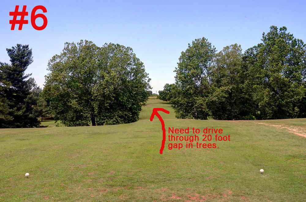 Honey-Creek-Golf-Club,-Aurora,-MO-6th-Hole