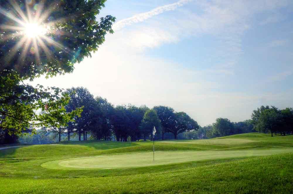 Lake-Forest-Country-Club,-Lake-St-Louis,-MO-Sunburst