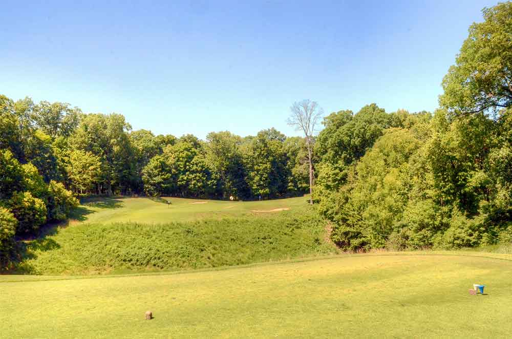 Missouri-Bluffs-Golf-Club,-St-Louis,-MO-Ravine