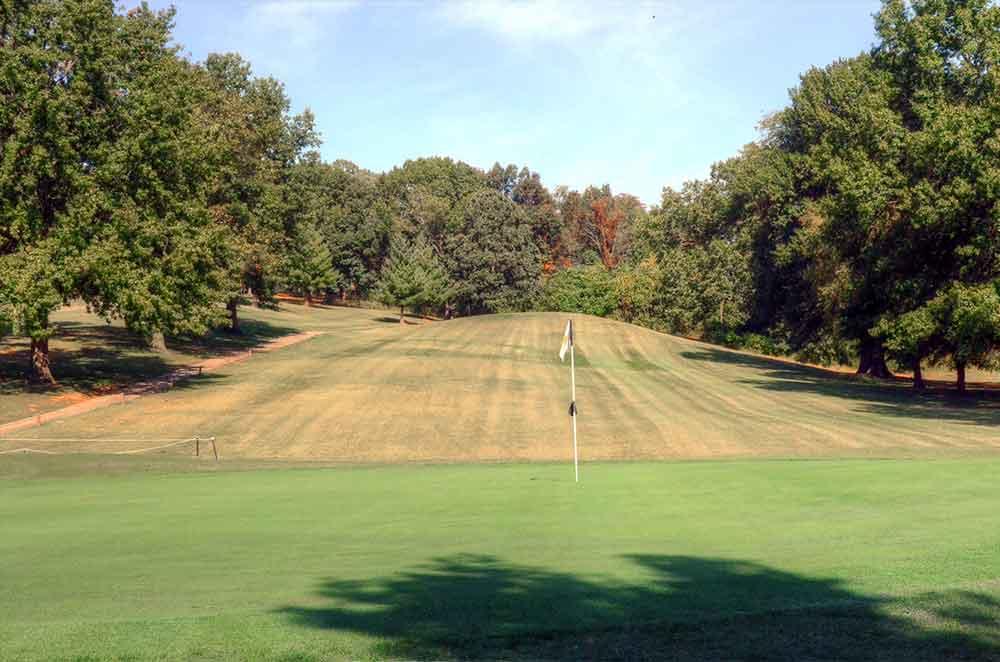 Oak-Valley-Golf-Course,-Pevely,-MO-Green