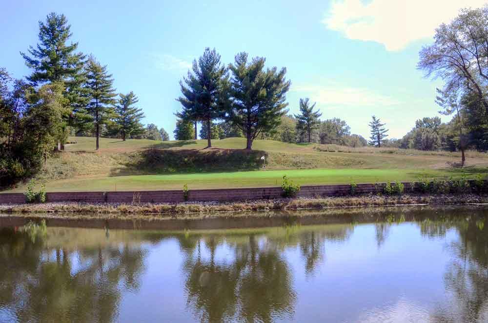 Oak-Valley-Golf-Course,-Pevely,-MO-Reflection