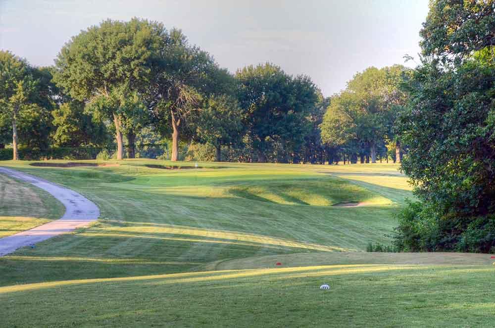 Swope-Memorial-Golf-Course,-Kansas-City,-MO-Green