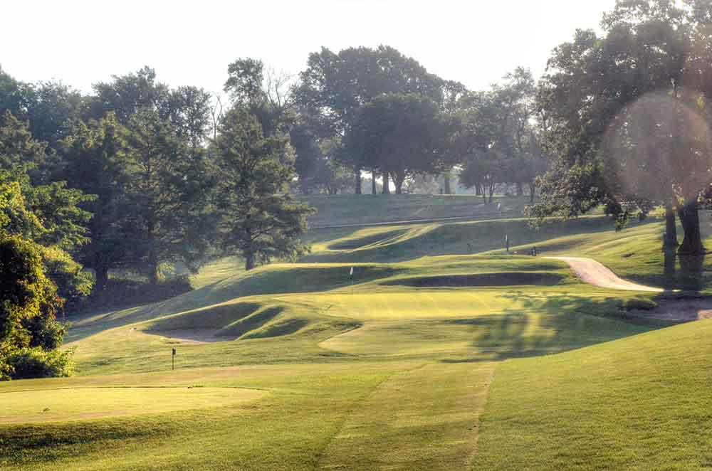 Swope-Memorial-Golf-Course,-Kansas-City,-MO-Par-3