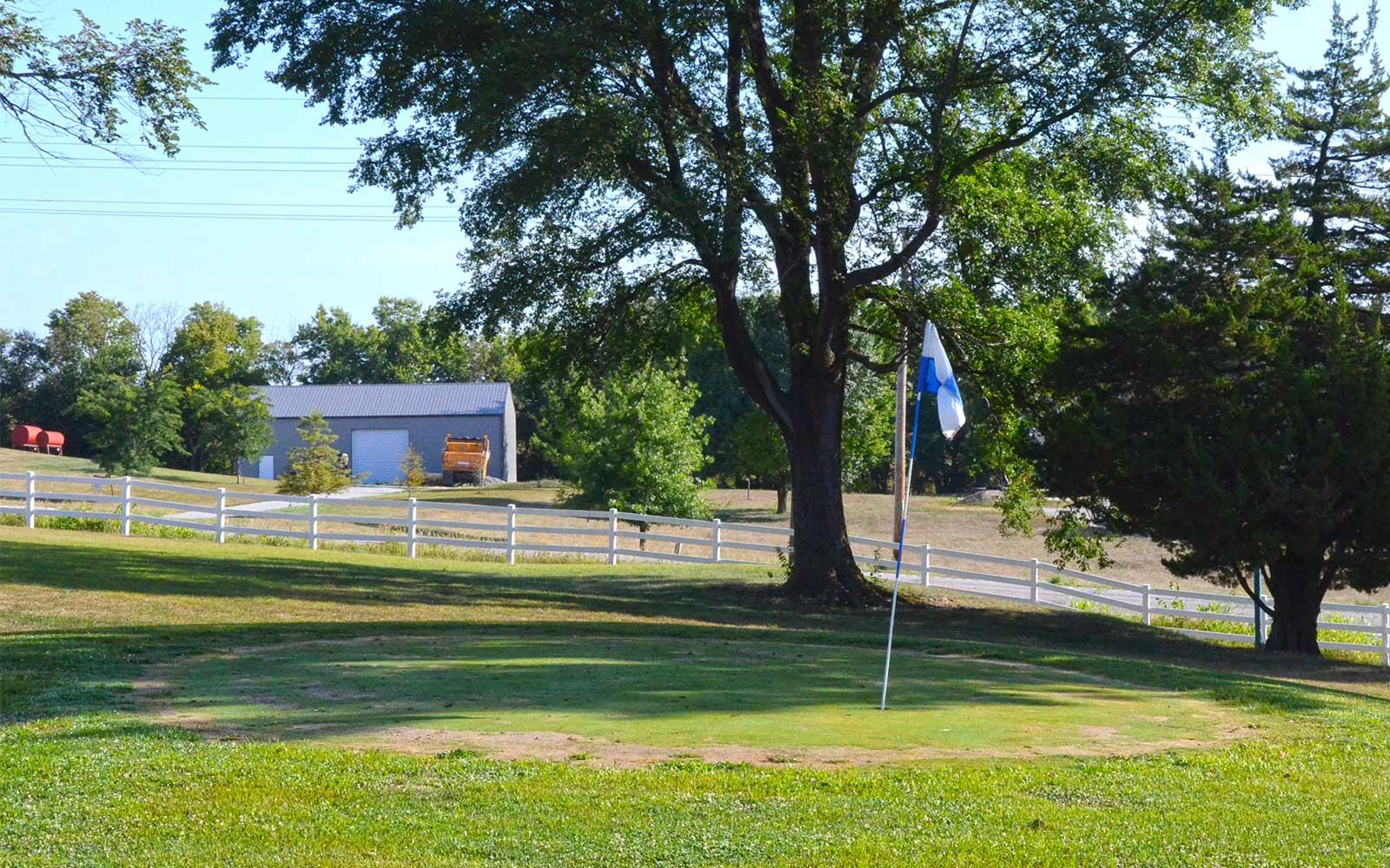 The-Golf-Club-of-St-Joeseph,-St-Joseph,-MO-Fence