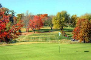 Highlands Golf and Tennis Center, Number 9 green