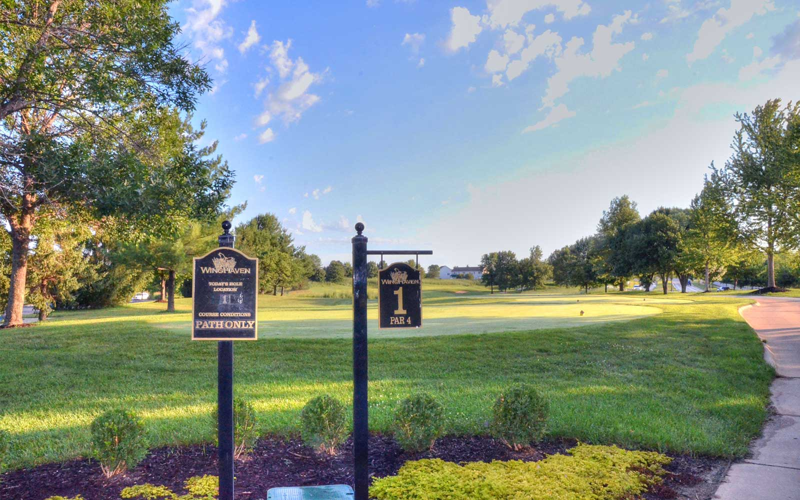 WingHaven-Country-Club,-St-Louis,-MO-Hole-1