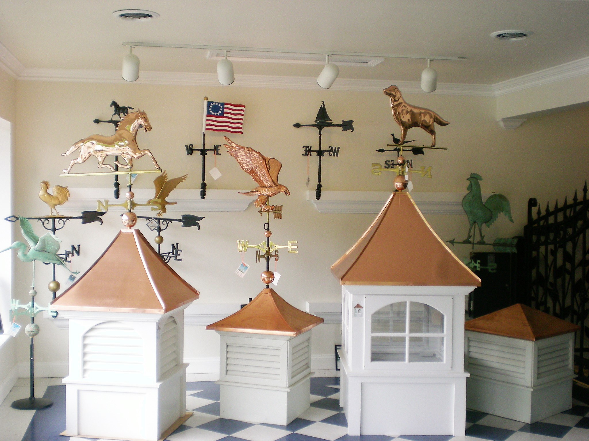 Cupolas and Weather Vanes