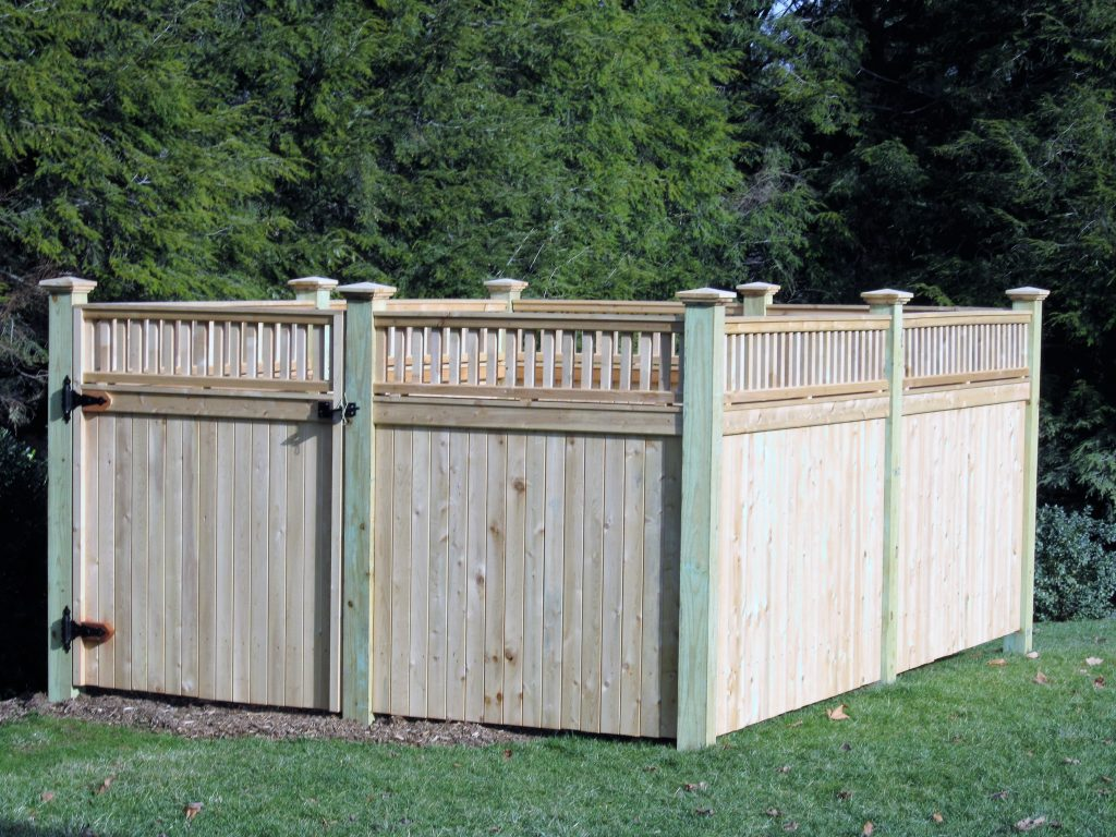 Privacy Fencing Enclosure