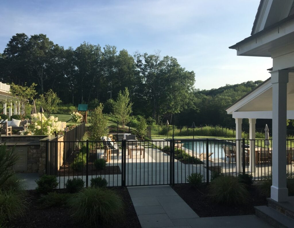 Continental Aluminum Pool Fence