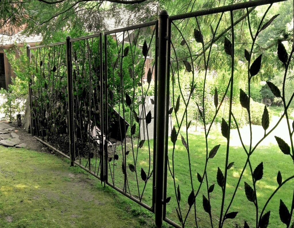 Custom Steel Fence