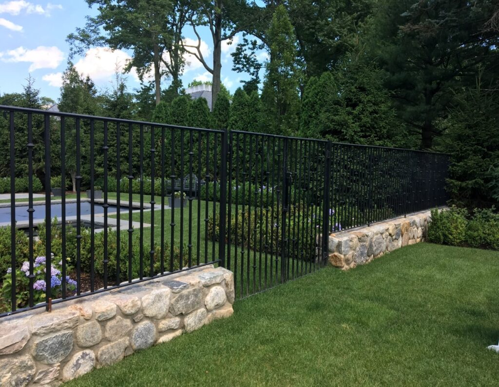 Steel Custom Fence