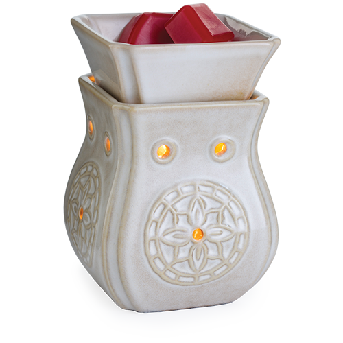 Flower in Circle Insignia Mid-Size Warmer