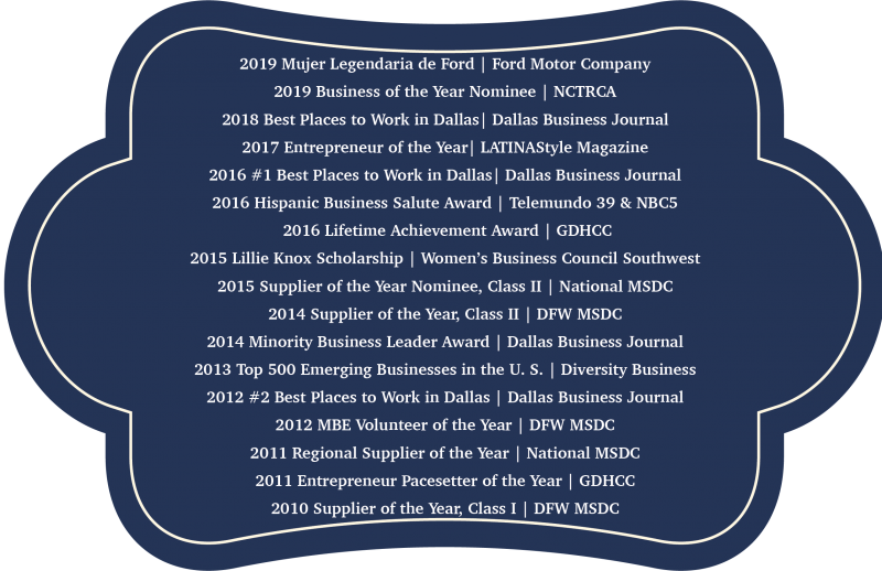 Blue awards Banner 2019
