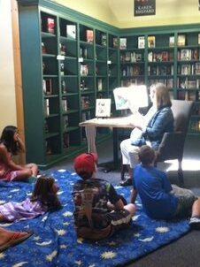 Book store reading of The Adventures of Keeno & Ernest