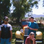 Aaron & Michael Car Show