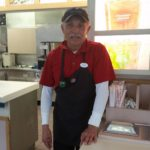 Steve, working hard at Wendy's...