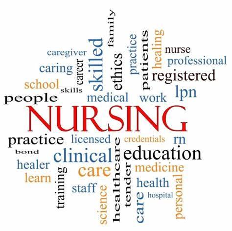 nurse word art
