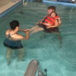 Maria Swimming 2