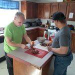 Michael Aaron Cooking