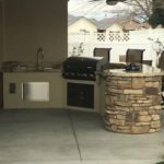 Bakersfield outdoor bbq and kitchen - maranatha landscape