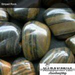 Striped Rock - Marantha Landscape Bakesfield