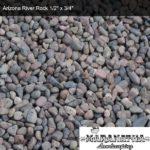"Arizona River Rock 1/2"" x 3/4"" - Maranatha Landscape Bakersfield"