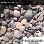 Arizona River Rock 3x6 - Maranatha Landscape Bakersfield