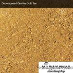 Decomposed Granite Gold Tan - Maranatha Landscape Bakersfield