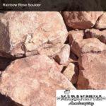 Rainbow Rose Boulder - Maranatha Landscape Bakersfield