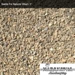 """Santa Fe Natural Wash 1"""" - Maranatha Landscape Bakersfield"""