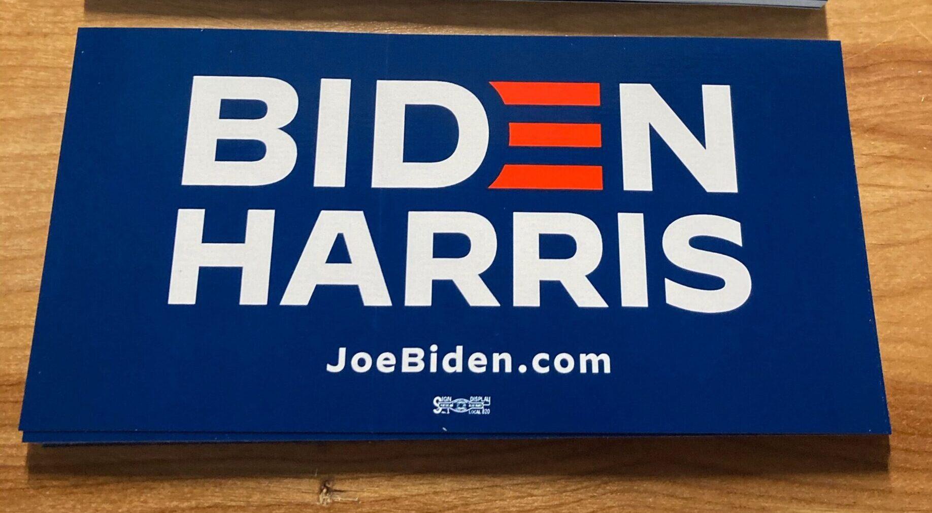 Biden-Harris Blue Bumper Stickers