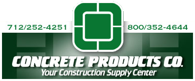 Concrete Products Co. | Your Construction Supply Center in Sioux City, Iowa