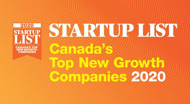 2020 startup list canada's top new growth companies