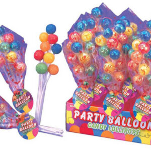 1320L Party Balloons Lollipops 12CT23111