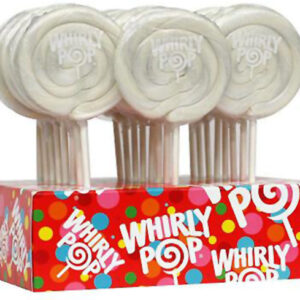 A&B70229 WHIRLY POPS COLORS WHITE1-24-1.5OZ