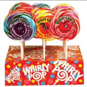 A&B74006 FRUIT LICK POP DISPLAY 2/24/1.5OZ