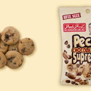 BUDB10028 BUD'S BEST COOKIES PECAN CHOCOLATE CHIP 2.25OZ