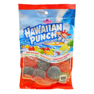 A&B 55901 HAWAIIAN PUNCH JELLIES 12-3.5oz PEG BAGS