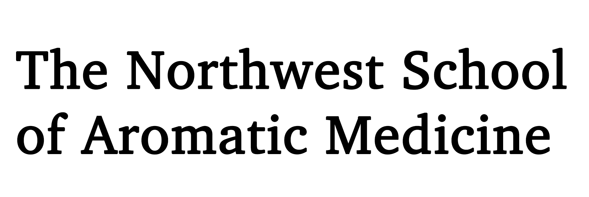 The Northwest School of Aromatic Medicine
