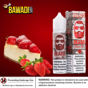NO. 05 ( cheesecake with strawberries ) BEARD VAPE Co