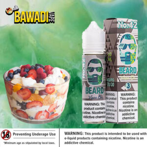 No. 42 ( cold fruit cup ) BEARD VAPE Co Duabi
