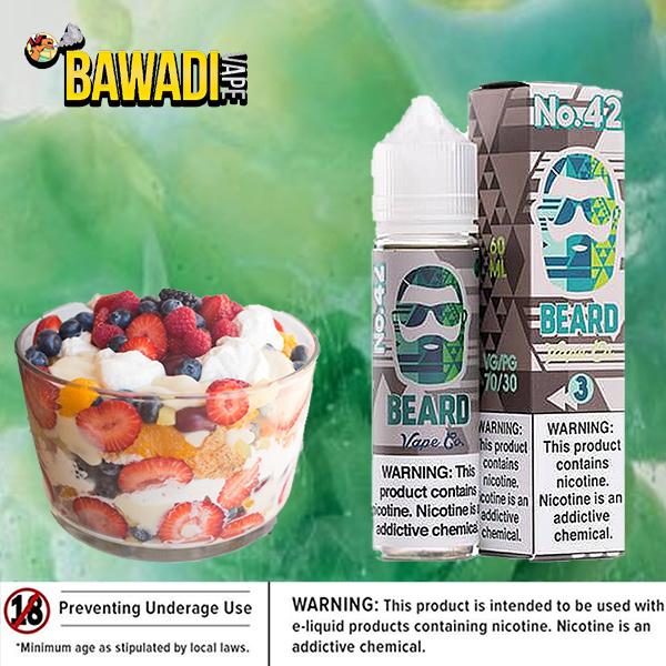No. 42 ( cold fruit cup ) BEARD VAPE Co Duabi