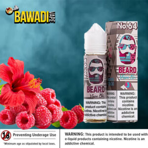 No. 64 ( unique raspberry hibiscus twist ) BEARD VAPE Co