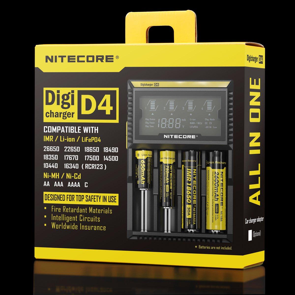 NITCORE_D4_box battery recharge uae